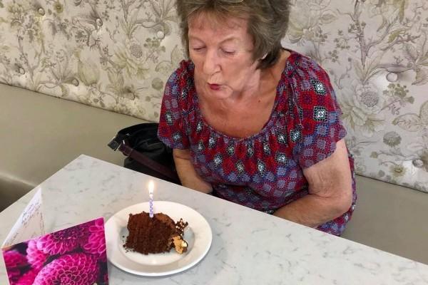 Birthday Celebration at The Burlington Care Home