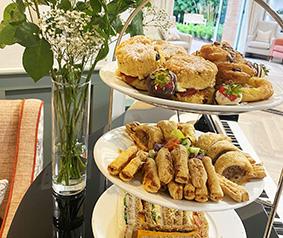 Afternoon tea at Brampton Manor Care Home