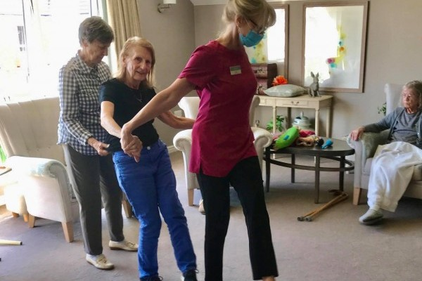 Living Life to the full at The Burlington Care Home