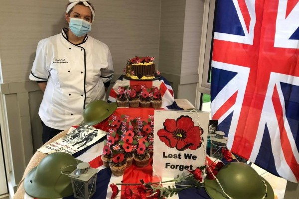 Remembrance Day at The Burlington Care Home