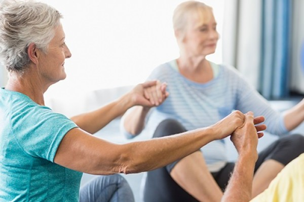 Ways to help an older person stay active