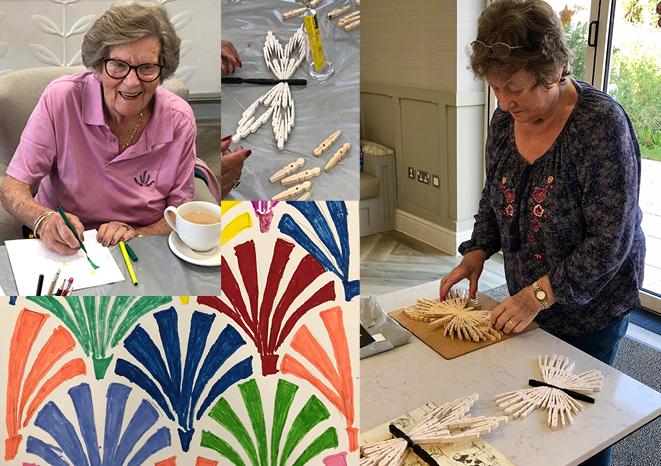 Crafts at The Burlington Care Home
