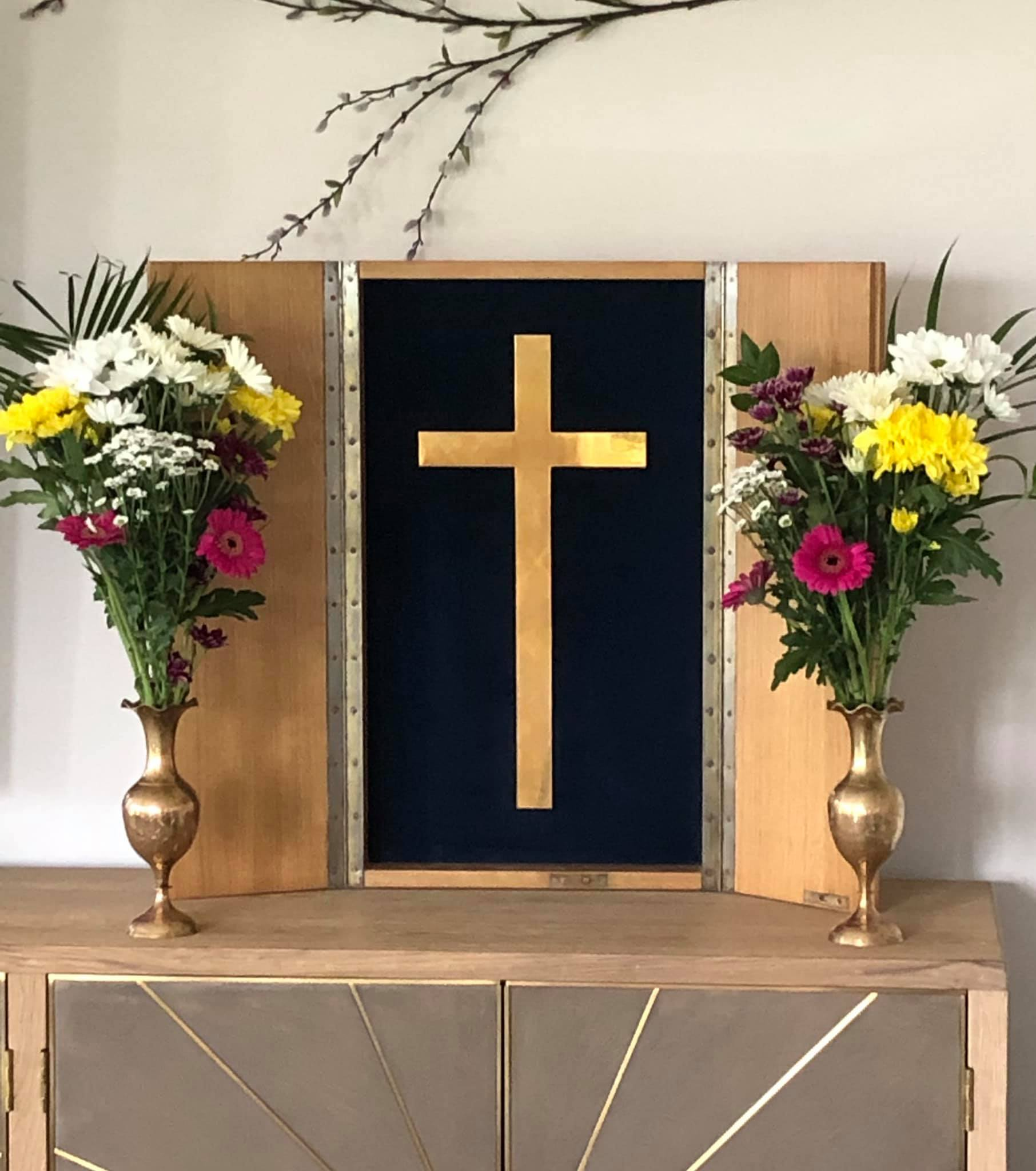 HM Queen Mothers Cross by the custodians at The Burlington Care Home