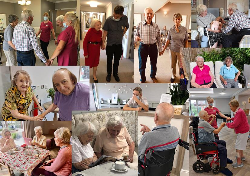 Dementia Support Social at The Burlington Care Home
