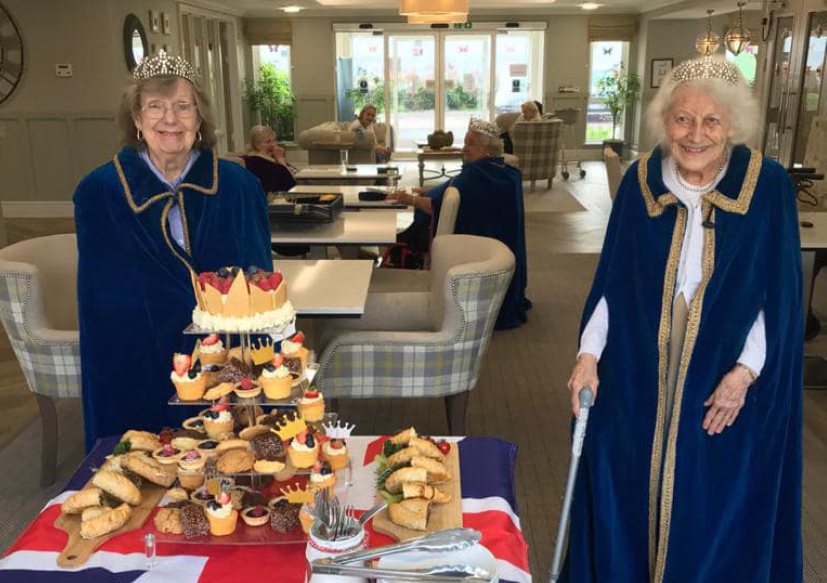 Queens Birthday at The Burlington Care Home