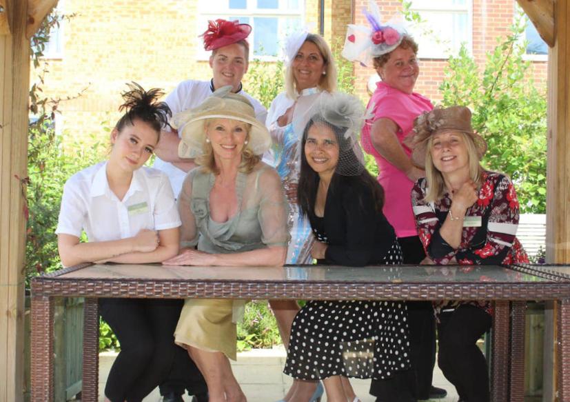 Royal Ascot Day at The Burlington Care Home